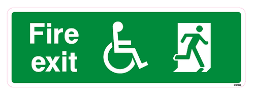 Fire exit Disabled