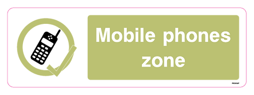 Mobile phones zone