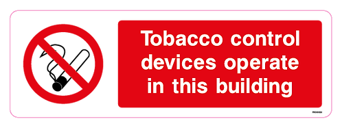 Tobacco control devices operate in this building