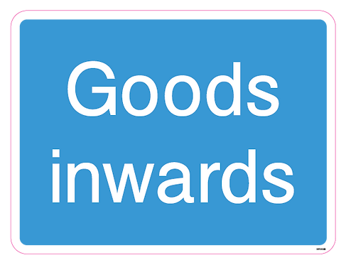Goods inwards