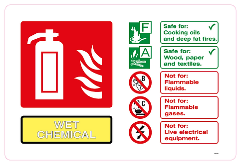 Fire WET CHEMICAL