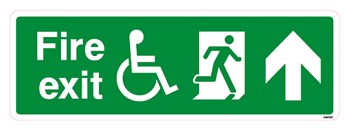 Fire exit Arrow up Disabled
