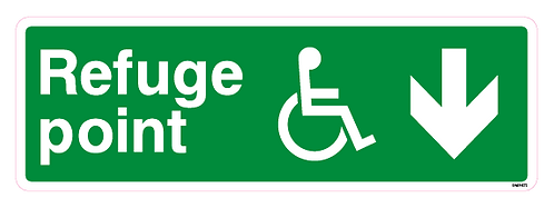 Refuge point Arrow down Disabled