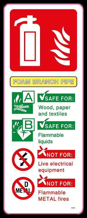 Fire FOAM BRANCH PIPE