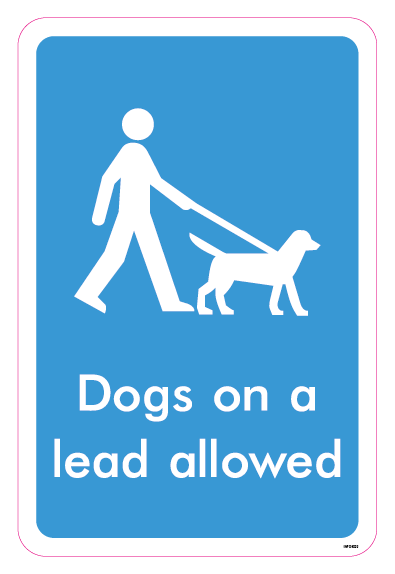 Dogs on a lead allowed