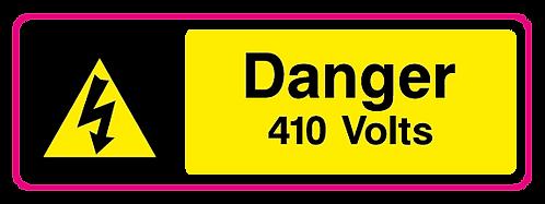 Danger 410 Volts