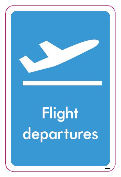 Flight departures