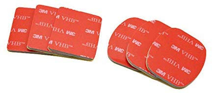 Self adhesive pads - Fixing