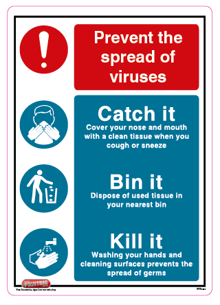 Prevent the spread of viruses