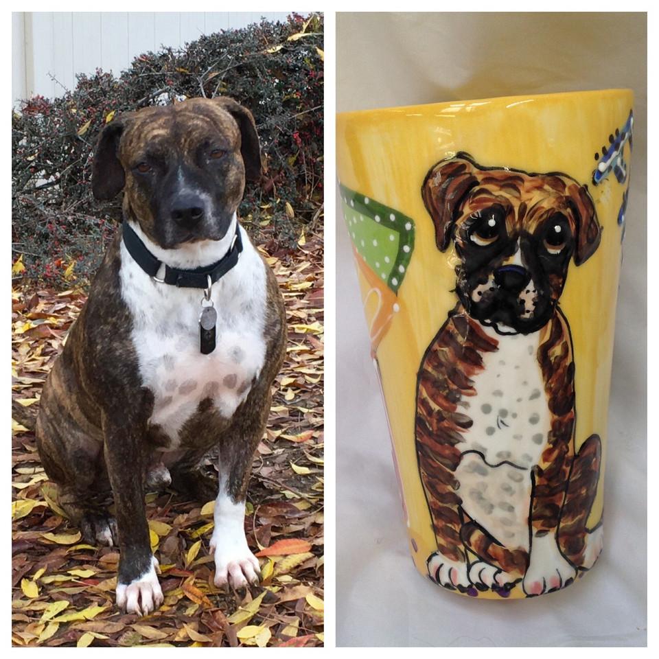 Custom Tall Latte Mug
