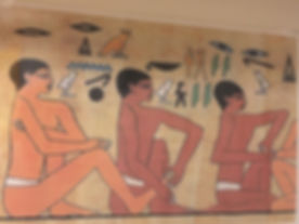 Ancient Egyptian Reflexology dating back 2300 years.