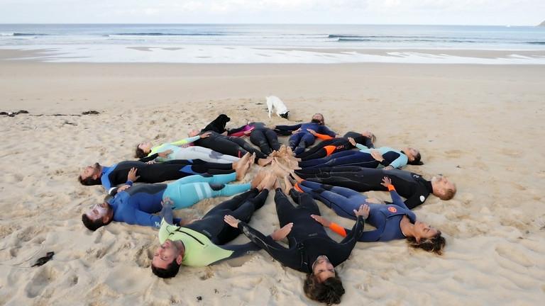 Neuroyoga® SURF, SOLEIL et élément EAU , Vamos a la playa :) (1)