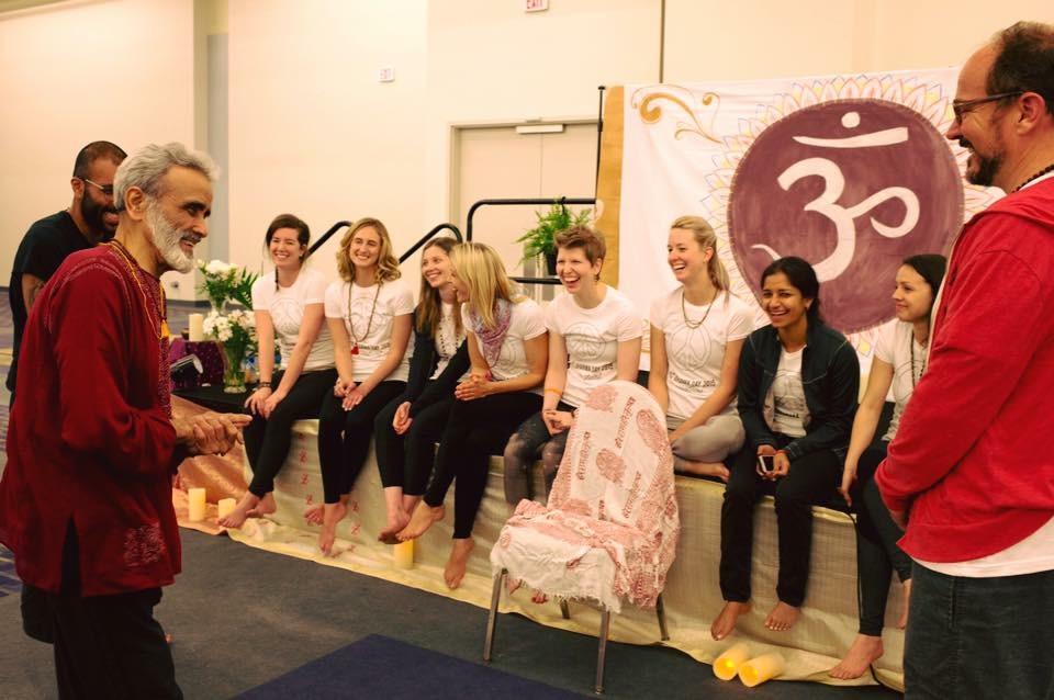 Guru visits