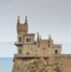 11. The Swallow's Nest Castle near Gaspr