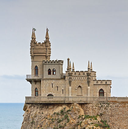 11. The Swallow's Nest Castle near Gaspr