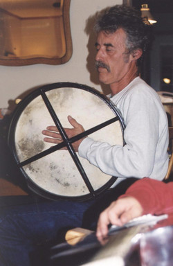 Don with bodhran