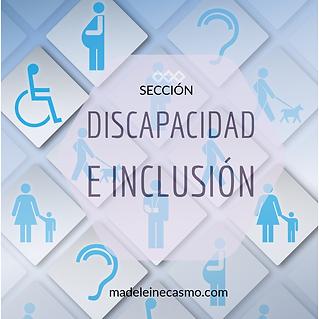DISCAPACIDAD E INCLUSIÓN TABLERO PINTEREST