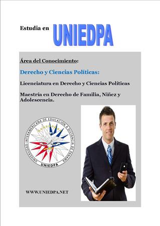 DERECHO Y CIENCIAS POLÍTICAS.