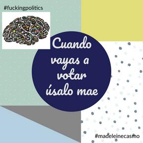Por amor a Costa Rica debes ir a votar - #EleccionesCR 2018.