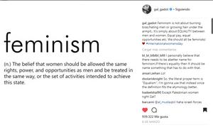 Gal Gadot en Instagram