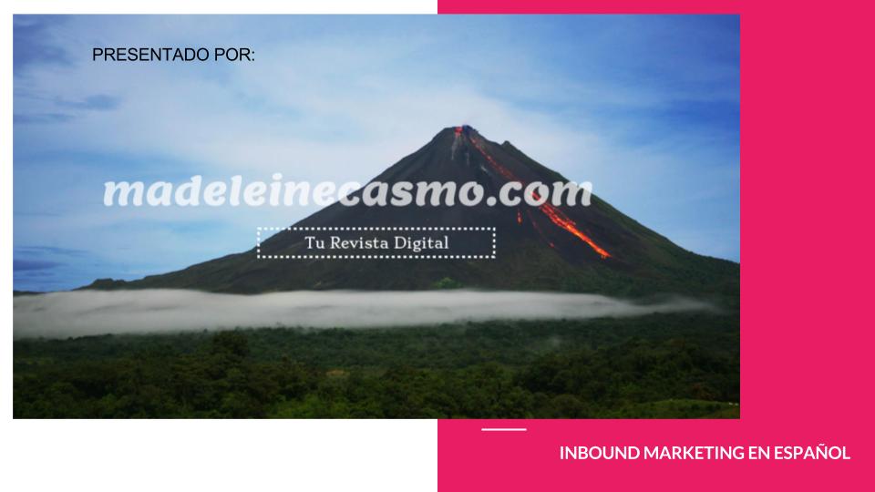 Inbound Marketing en español | madeleinecasmo.com