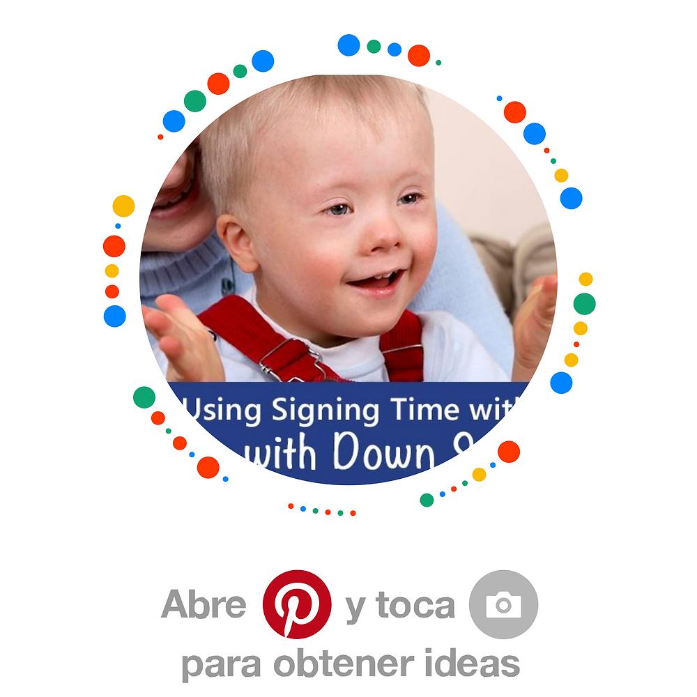 Tableros Especializados en Síndrome de Down - Pinterest