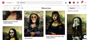 TABLERO | COLECCIONES | MONA LISA