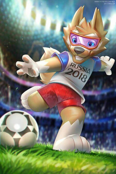Zabivaca _Mascota Oficial Rusia 2018