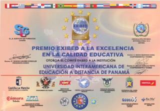 UNIEDPA Acreditación EXIBED 2017
