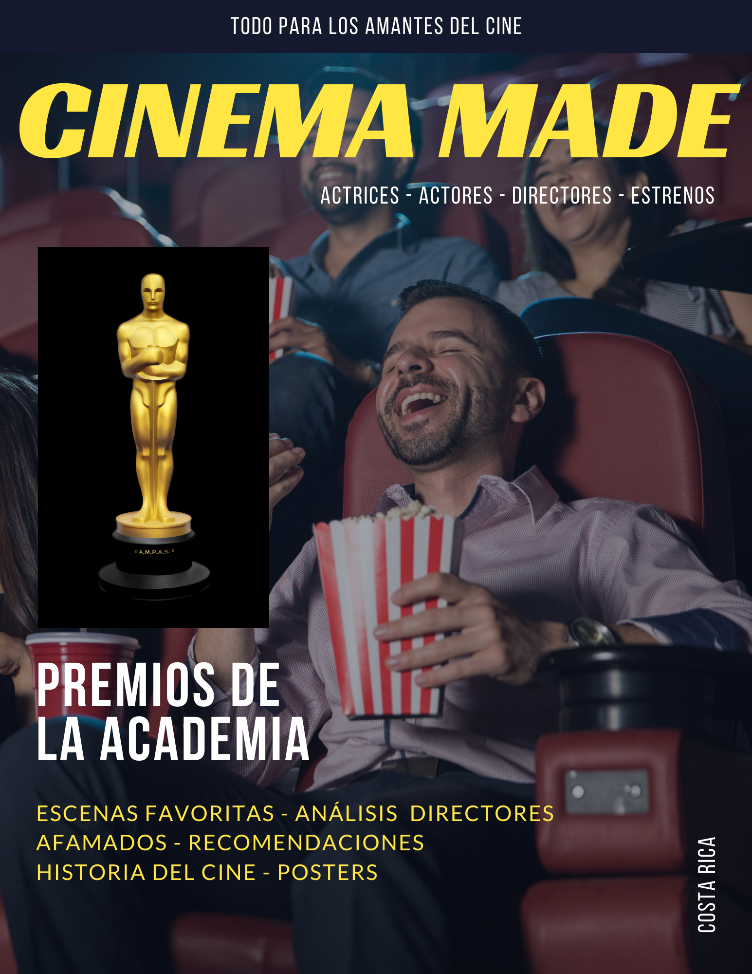CINEMA MADE Magazine Cover