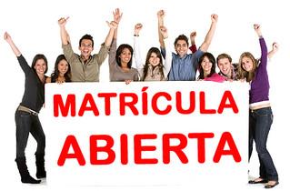 MATRICULA ABIERTA