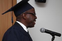 Maestro de ceremonias. Dr. Murray.