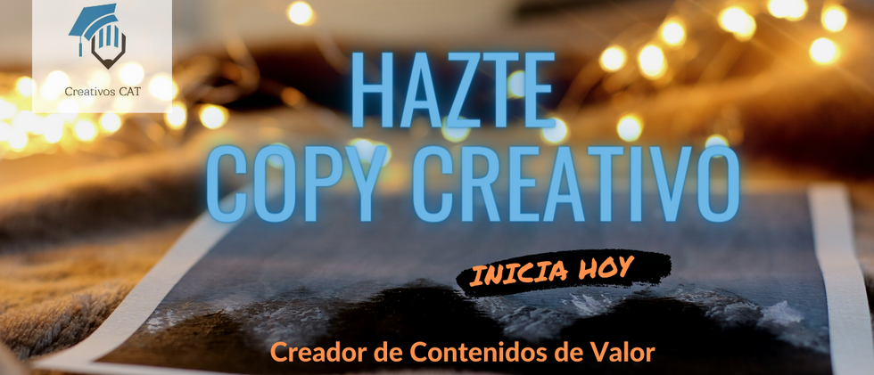 Copy Creativo (a)