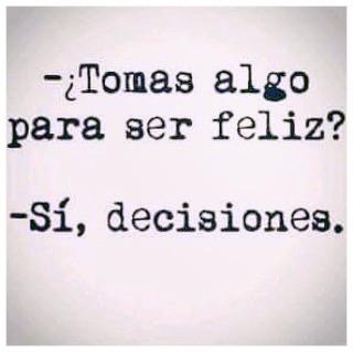 Toma decisiones