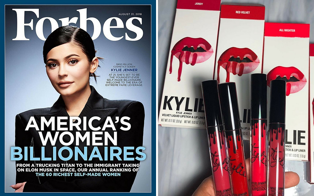 Kylie Jenner - Forbes Cover