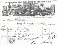 John Powell, Furnituremaker