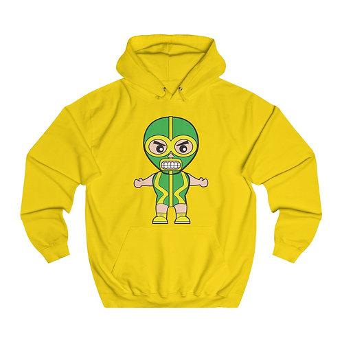 Green Luchador Unisex College Hoodie