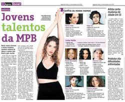 Jornal Agora • Caderno Musica