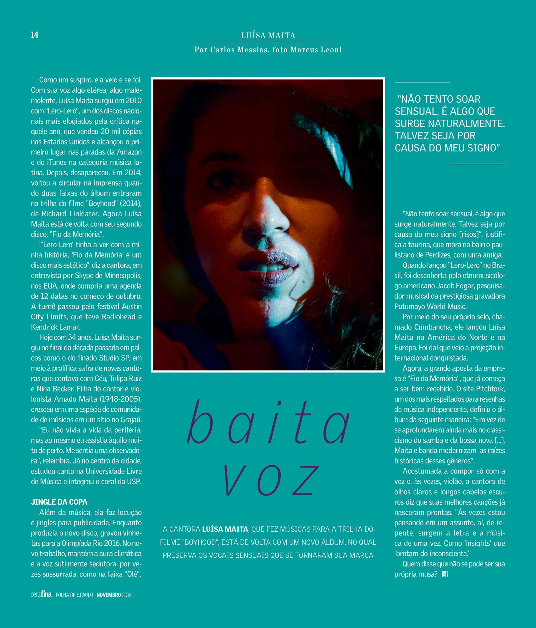 Revista Serafina