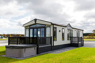 Stewarts Resort Lodges with hot tubs