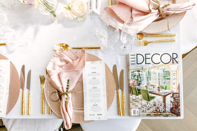 Elle Decor X Chef Renee Blackman