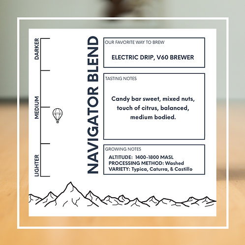 Navigator Blend- Whole Bean