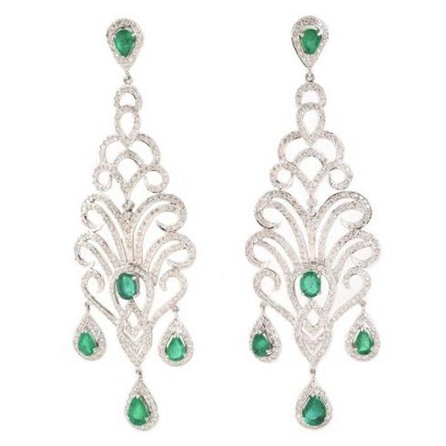 Emerald Earings