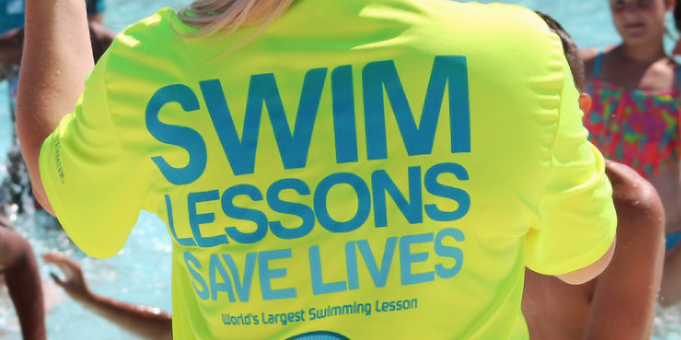 Worlds Largest Swimming Lesson!