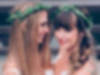 2 happy brides-green crown.jpg
