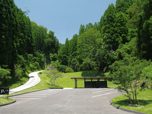 Shigita Parking and Toilet, Hakusui Dam