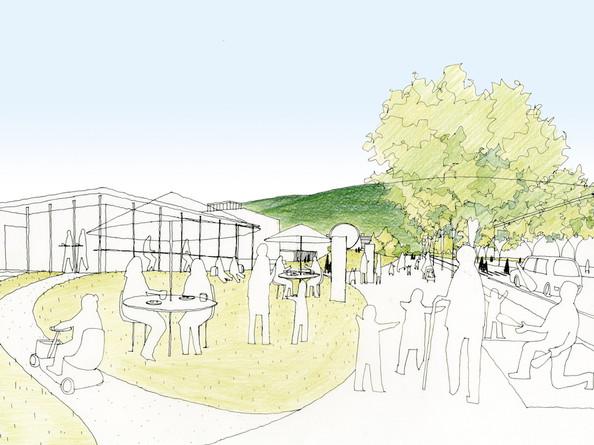 GrandDesign for Future of Nagi Town