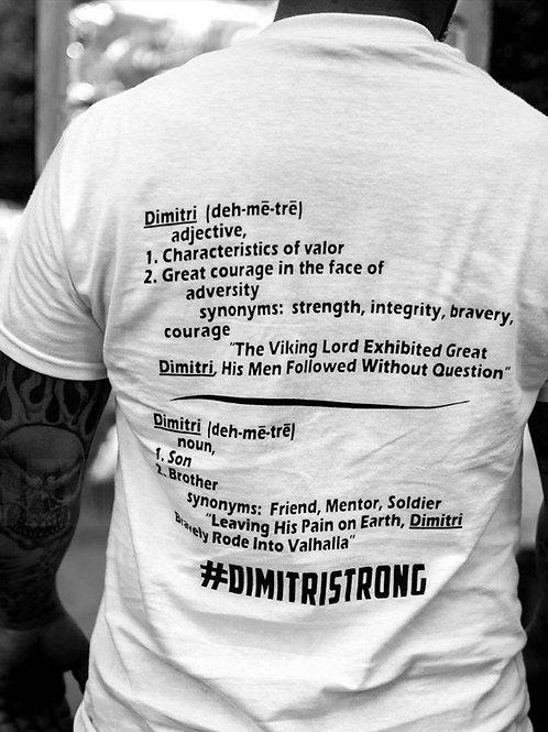#DimitriStrong