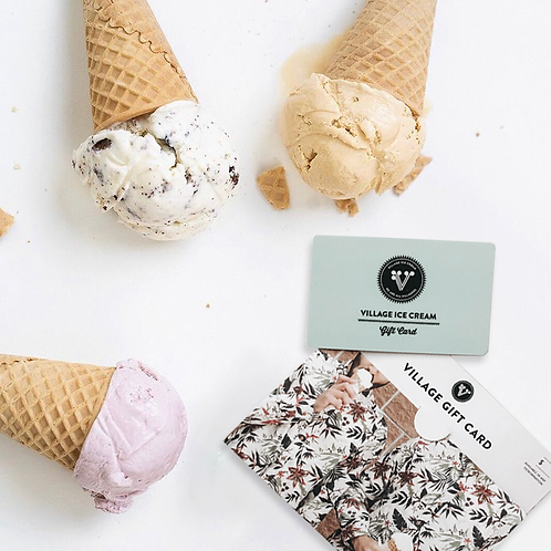 Village Ice Cream - Gift Card