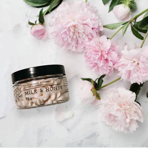 EmElleEm Soaps - Body Butter (Milk + Honey)